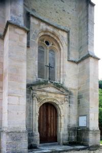 La base du clocher vue depuis le nord-ouest (2001)