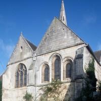 Vue partielle de l'église depuis le sud-est (1994)