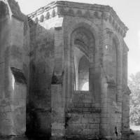 La chapelle du bras sud du transept vue du sud-est (1995)