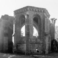 La chapelle du bras sud du transept vue de l'est (1995)