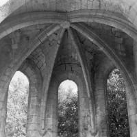 La voûte de la chapelle du bras sud du transept (1995)