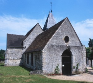 L'église vue du nord-ouest (1999)