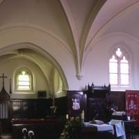 Vue partielle du choeur et de la chapelle nord vers le nord (2000)