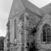 Le bras nord du transept vu du nord-ouest (1996)