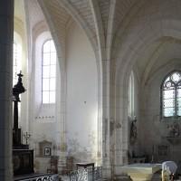 Vue partielle du bras sud du transept et du choeur vers le sud-est (2019)