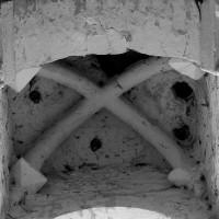 La voûte de la partie haute du revers de la façade (1996)