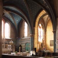 Le choeur et la chapelle sud vus vers le sud-est (2000)