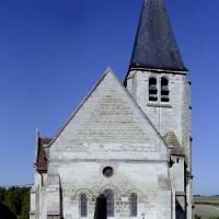 L'église vue de l'est (2008)