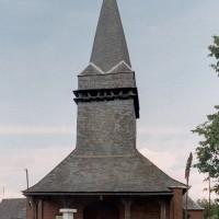 L'église vue de l'ouest (2004)
