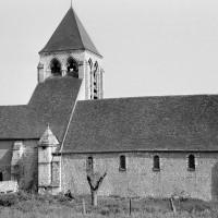 L'église vue du nord-ouest (1974)
