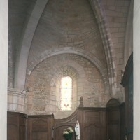 La seconde travée du choeur vue vers le nord (1997)