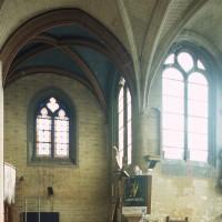Le bras nord du transept et le choeur vus vers le nord (2000)