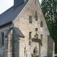 La façade vue du nord-ouest (1993)