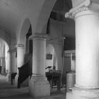 Le bas-côté nord de la nef vu vers le sud-est (1997)