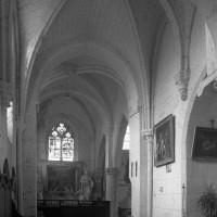 Les chapelles au nord du choeur vues vers le sud-est (1997)