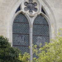 La fenêtre centrale du mur de chevet (2016)