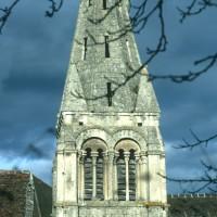 Le clocher vu du sud (1970)