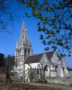 L'église vue du sud-est (1971)