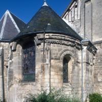 L'abside vue du nord-est (1995)