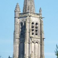 Le clocher vu du sud-ouest (1995)