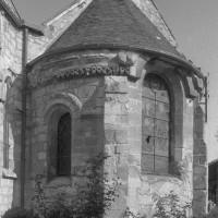 L'abside vue du sud-est (1995)