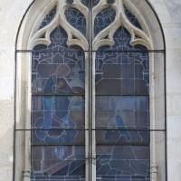 Première fenêtre de la première chapelle sud (2016)