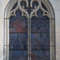 Seconde fenêtre de la première chapelle sud (2016)