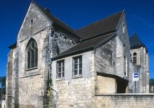 L'église vue depuis le nord-est (1996)