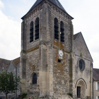 Vue partielle de l'église depuis le nord-ouest (2019)