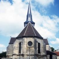 L'église vue de l'est (1997)