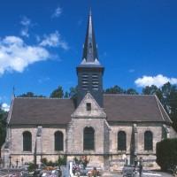 L'église vue du sud (1997)