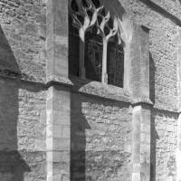 Vue partielle du mur de chevet (1997)