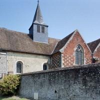 L'église vue du sud-ouest (2001)