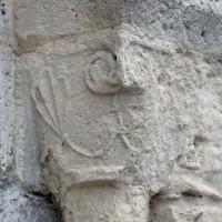 Chapiteau du piédroit de droite du portail ouest (2016)