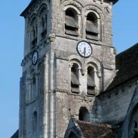 Le clocher vu du nord-ouest (1995)