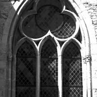 Fenêtre rayonnante de la chapelle sud (2017)