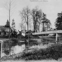 L'église et l'Oise avant la Grande Guerre