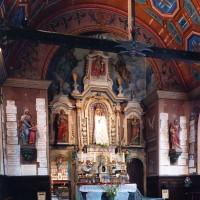 Vue partielle de la chapelle de la Vierge vers l'est (2003)