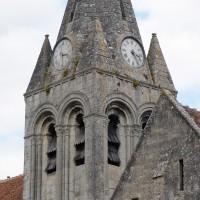 Le clocher vu du sud-est (2019)