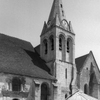 Vue partielle de l'église depuis le sud-ouest (2000)