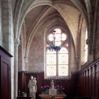 La chapelle sud du choeur vue vers l'est (2000)