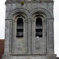 Les baies de la face sud du clocher (2019)
