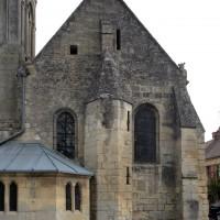 La chapelle sud du choeur vue depuis le sud (2019)