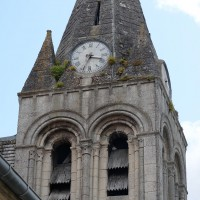 Le clocher vu de l'ouest (2019)