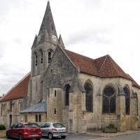 L'église vue du sud-est (2019)