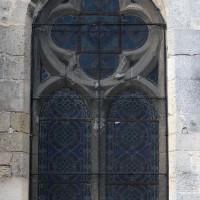 La fenêtre est de la chapelle sud du choeur (2019)
