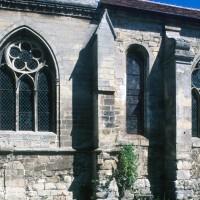 Fenêtres de la partie sud-est de l'église (1996)
