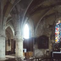 Vue partielle de la chapelle sud et du choeur vers le nord-est (1996)