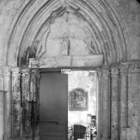 Ancien portail ouest de la chapelle sud (1996)