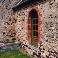 Vue partielle du choeur et de la nef depuis le sud-est (2005)